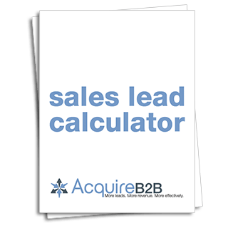 Sales lead calculator