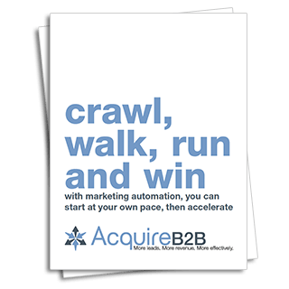 Crawl, walk, run and win