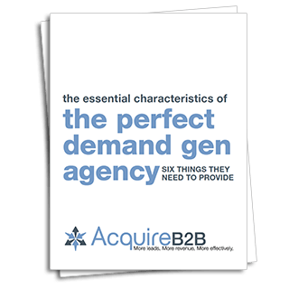 Guide to selecting a demand generation agency